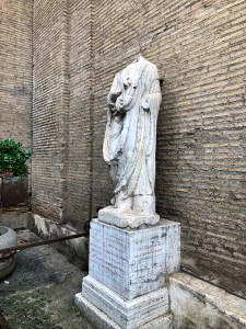 Rome's talking Statue, Abate Luigi
