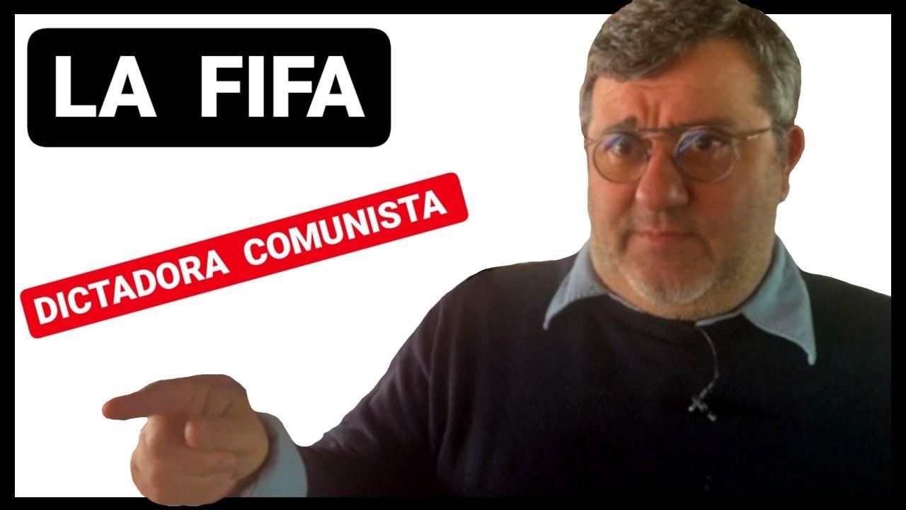 Mino Raiola Frente a la FIFA.
