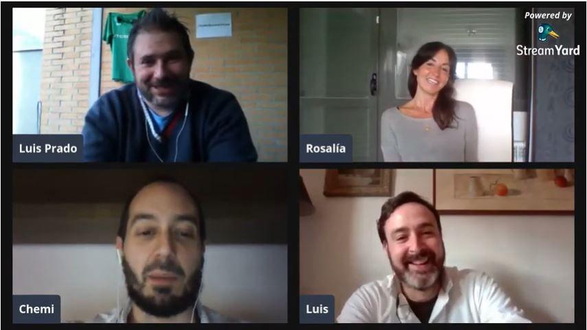 Entrevista a Chemi y Luis, junto con Rosalía Ortega en el canal de Luis Pardo.
