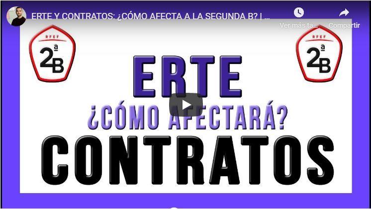 Entrevista a Luis en Espacio Mainez. ERTE Y contratos en el fútbol modesto.