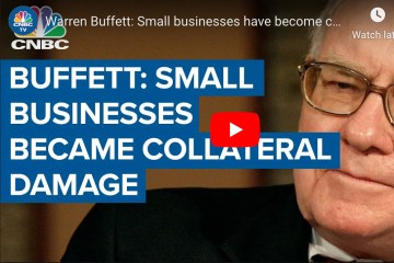 Berkshire Hathaway Chairman Warren Buffett urged Congress on Tuesday to extend aid to small businesses as they continue to struggle through economic shutdowns used to fight the coronavirus pandemic.