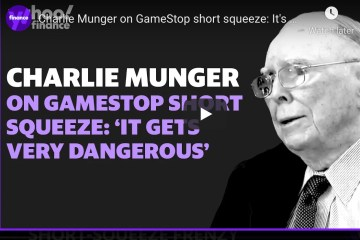 Charlie Munger on GameStop short squeeze: It's dangerous... and dirty way to make money