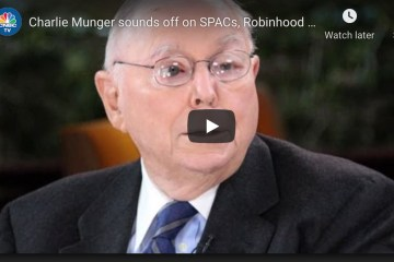 Charlie Munger sounds off on SPACs, Robinhood and bitcoin