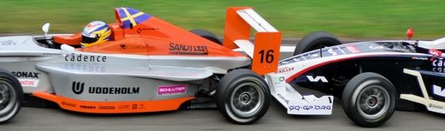 tailgating racecars