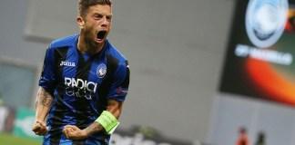 "Alejandro ""Papu"" Gomez durante Atalanta - Everton di Europa League. Foto: ANSA."