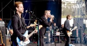 I The National in concerto. Foto: Rolling Stone.