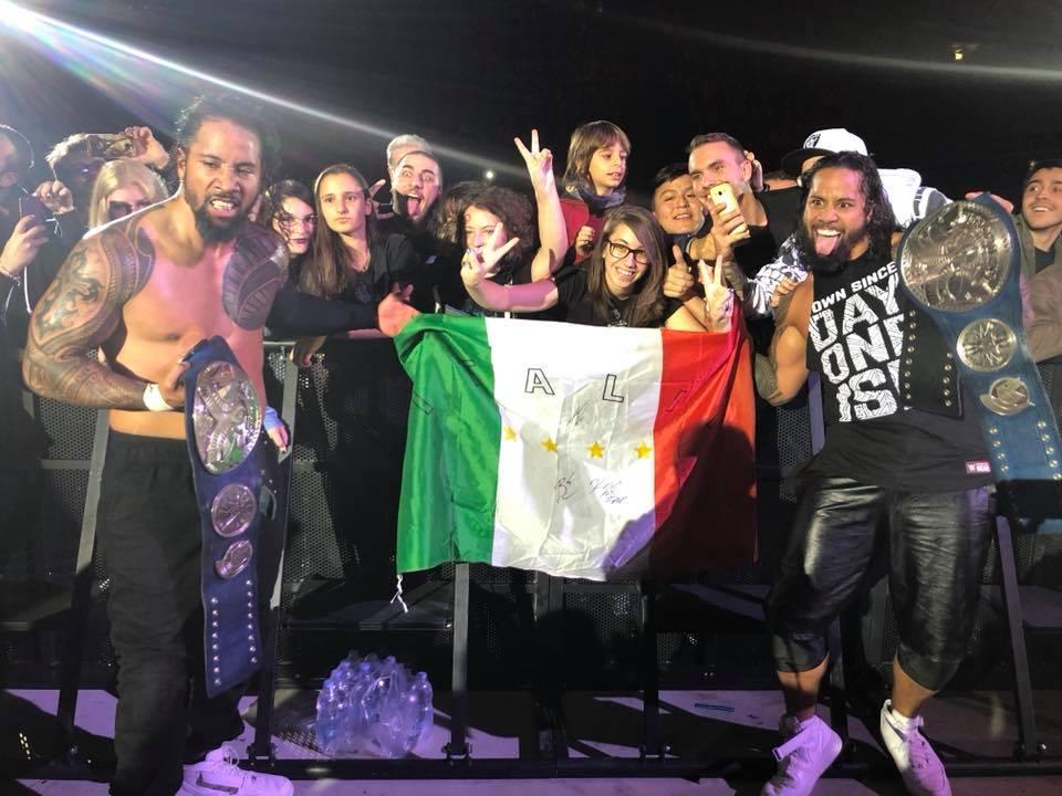 WWE Live a Milano: interviste e cronaca dello show