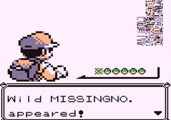 missingno bug