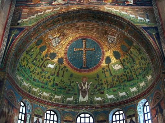 paesaggio simbolico dell'arte medievale