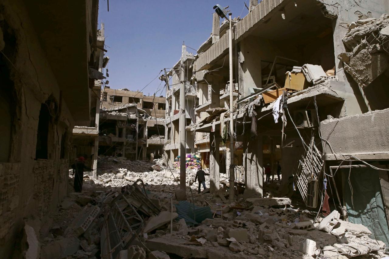Aria pesante: l'attacco con armi chimiche a Douma e le sue conseguenze