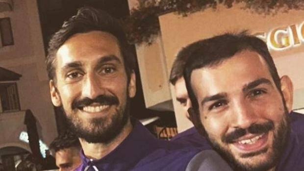Fiorentina - Riccardo Saponara e Davide Astori