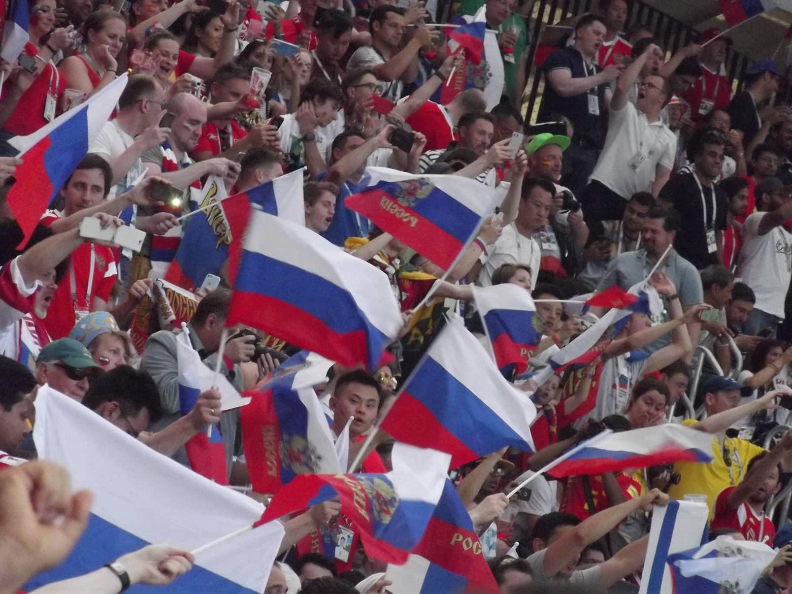 Cronaca di una partita del Mondiale di Russia