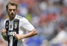 Claudio Marchisio nella partita amichevole giocata tra Juventus e Benfica. Foto: Getty Images.