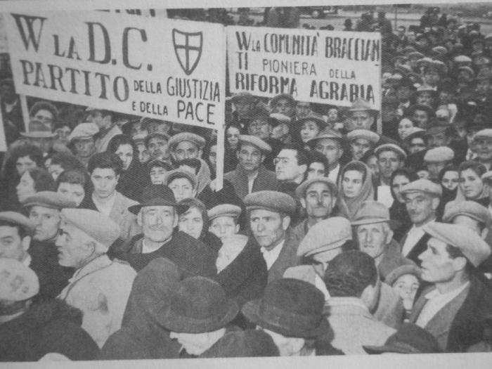 Manifestazione di braccianti in Basilicata a sostegno della riforma