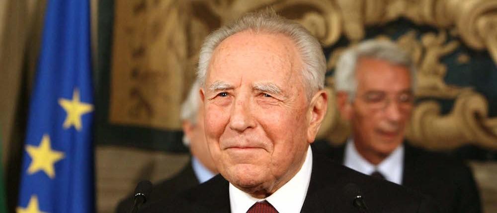 Carlo Azeglio Ciampi, Padre della Patria Europa