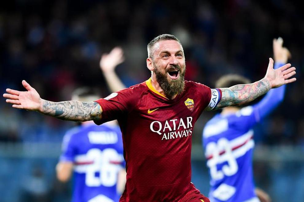 La Roma senza De Rossi, un centrocampista d'altri tempi