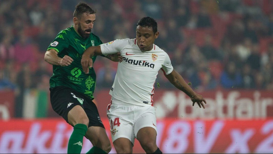 Luis Muriel, Siviglia. Credit: Getty Images
