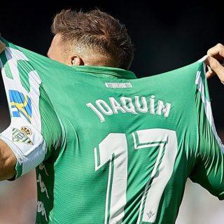 Joaquin Sanchez, il calciatore più vecchio ad aver segnato una tripletta in Liga spagnola. Foto: Getty Images.