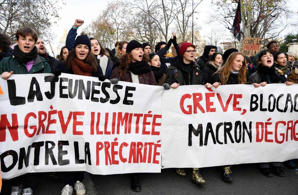 La riforma delle pensioni in Francia: gli scioperi e lo scontro generazionale