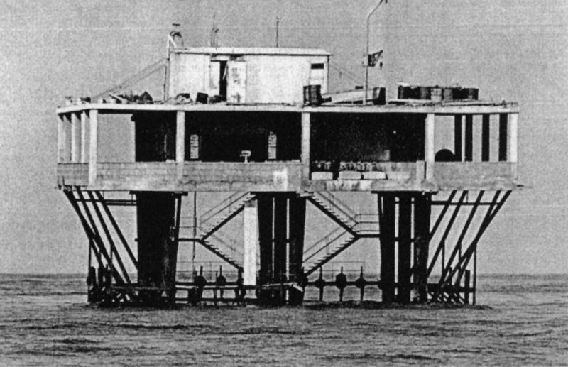 La bizzarra storia dell'Isola delle Rose