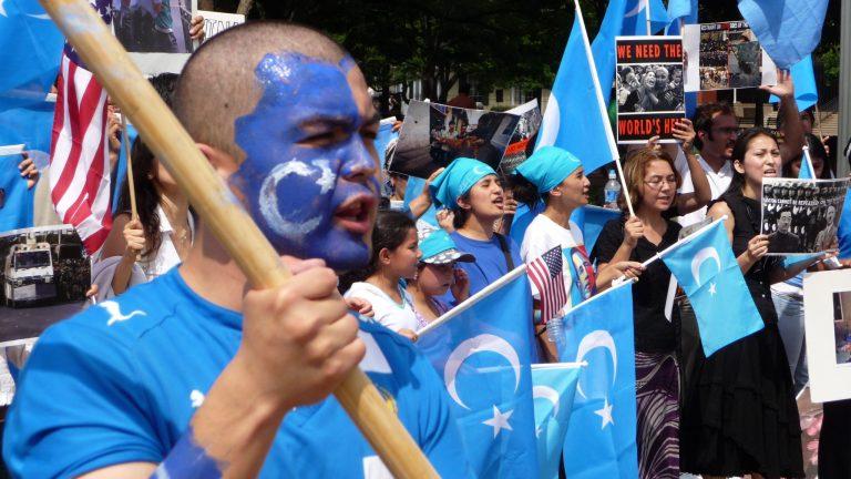 proteste pro uiguri in Cina