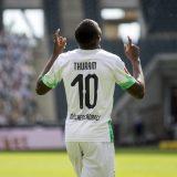 Marcus Thuram, giocatore del Borussia M'Gladbach. Foto: twitter.com/borussia_en