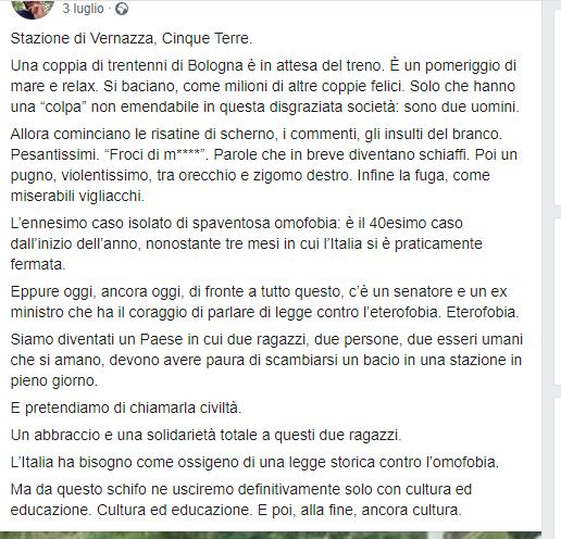 tipico post di Lorenzo Tosa