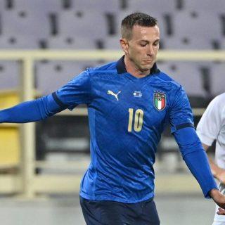 Federico Bernardeschi, riserva nella Juventus, ma protagonista nella pausa nazionali. Foto: twitter.com/vivo_azzurro
