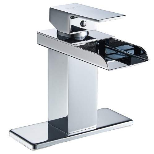 Eyekepper Modern Single Handle Waterfall Bathroom Faucet Review-The Wiser Buyer