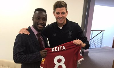 Naby Keita and Gerrard