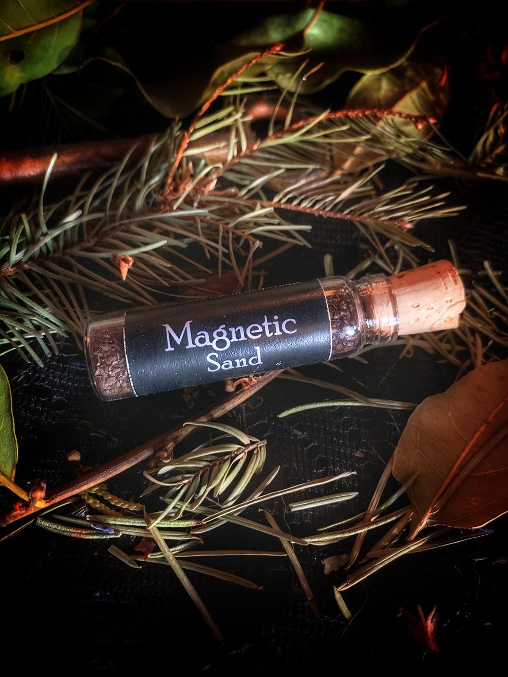 Magnetic Sand Lodestone