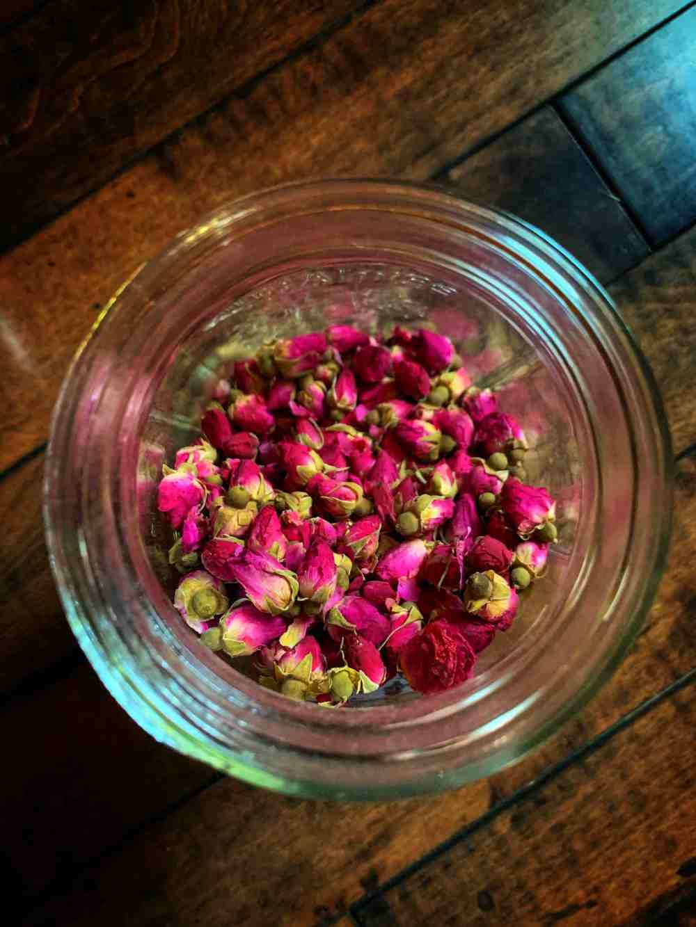 Witches herbs Rose Buds Rose Petals