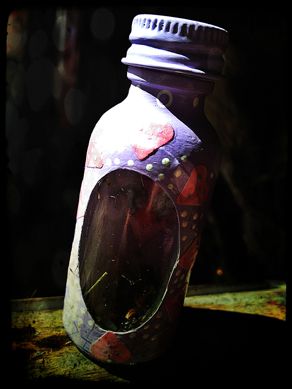 Spell Bottle Lavender Love Gay Witchcraft