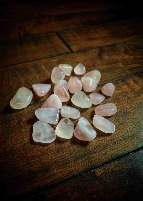 Rose Quartz Polished Stone