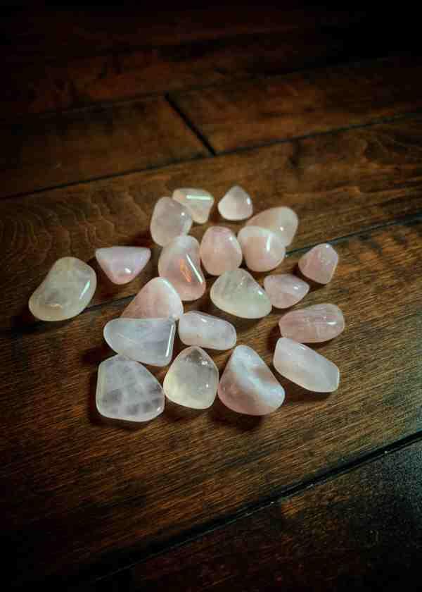 Rose Quartz Polished Stone