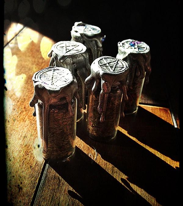 Witch Bottle Fertility Battery