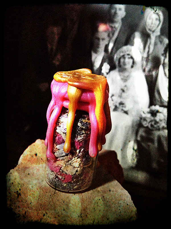 Peaceful Marriage Witch Bottle / Spell Bottle