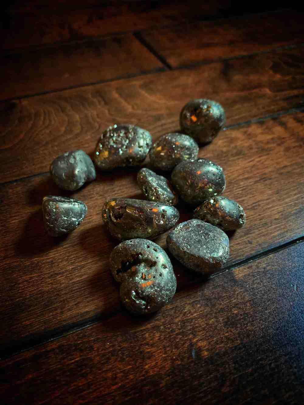 Polished Pyrite
