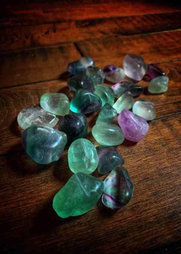 Fluorite Polished Stone