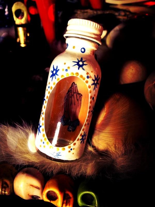 Spell Bottle Blessing