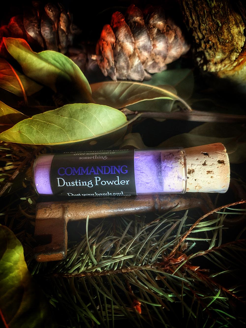 Commanding Dusting Powder