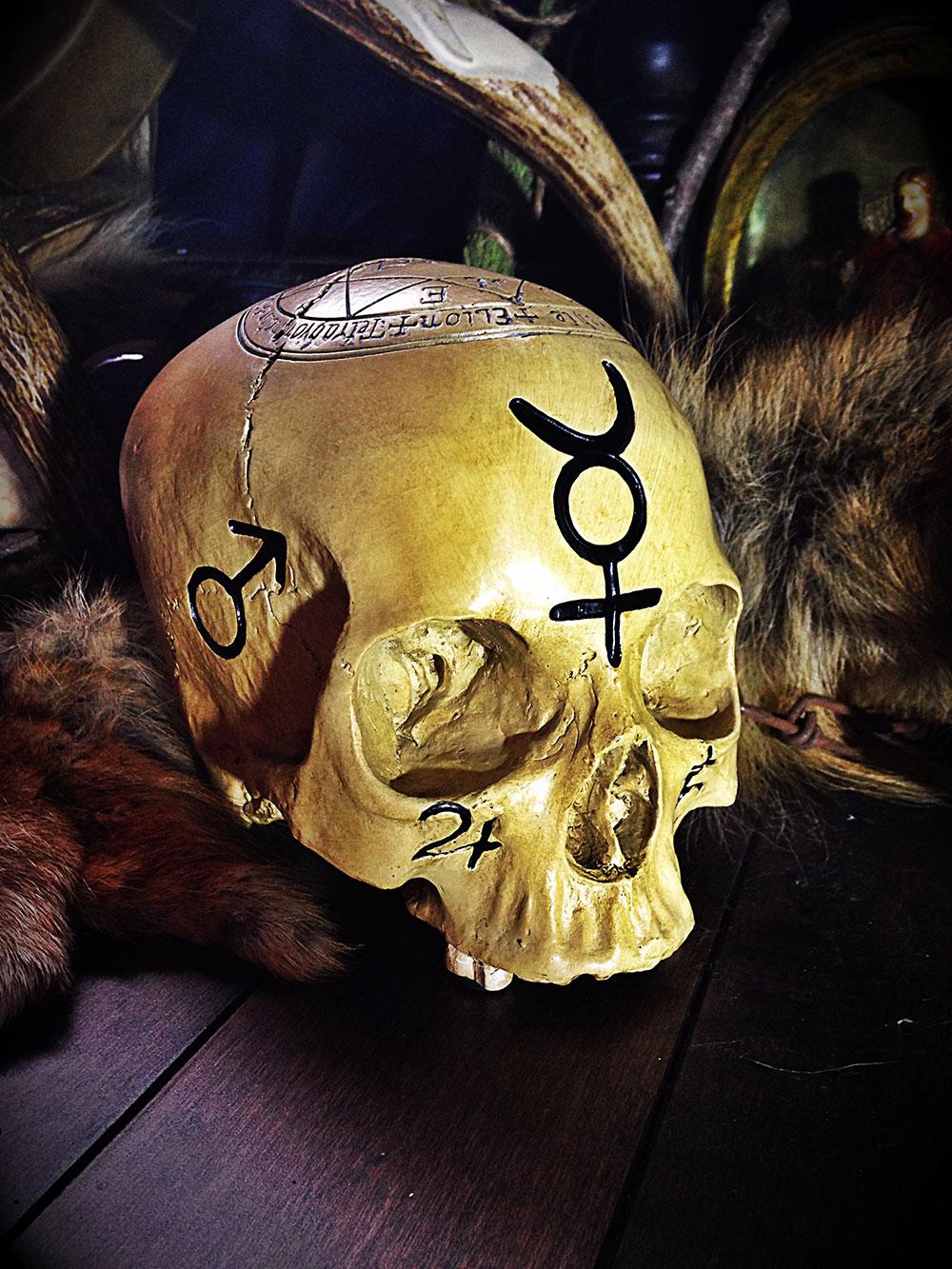The Ritual Pentagram Skull