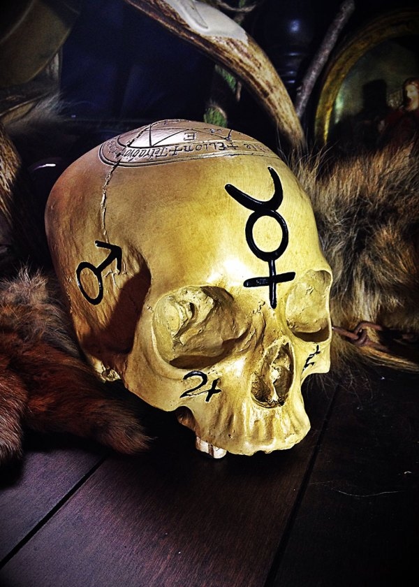 The Ritual Pentagram Skull