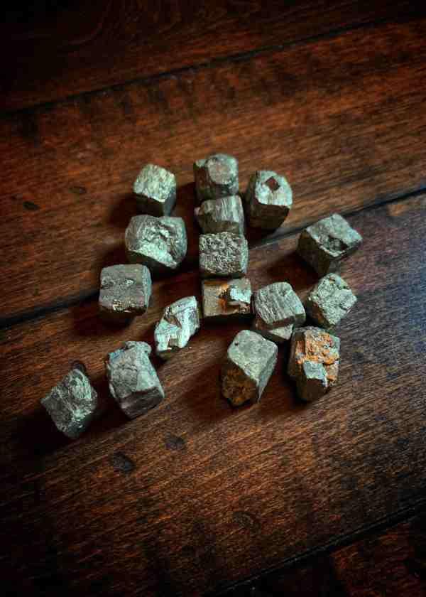 Pyrite Sugar Cubes