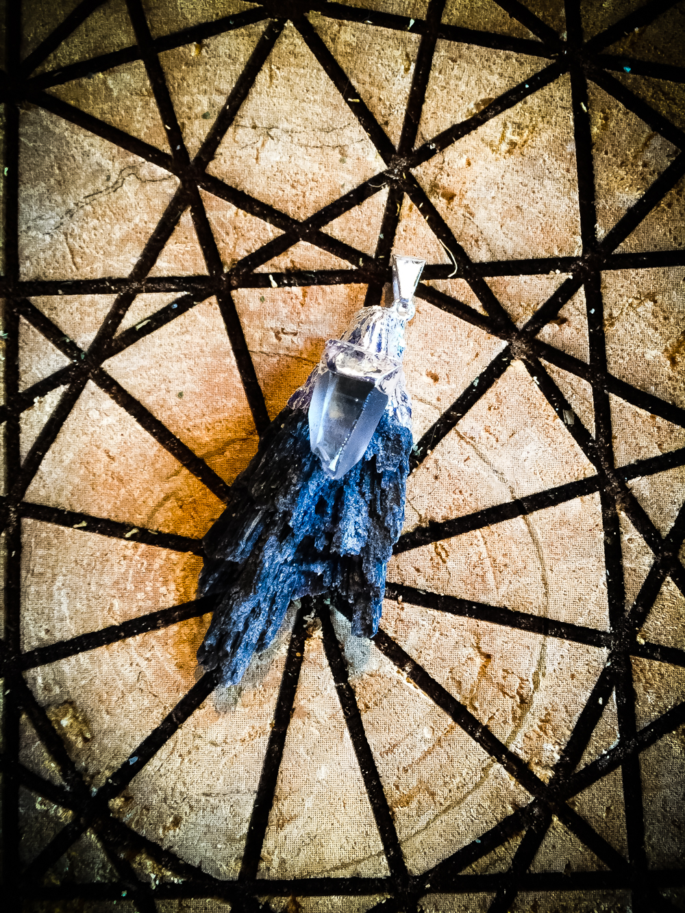 Black Kyanite Witches Broom