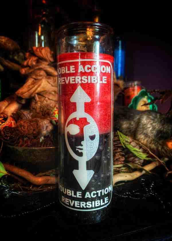 Reversing Vigil Candle