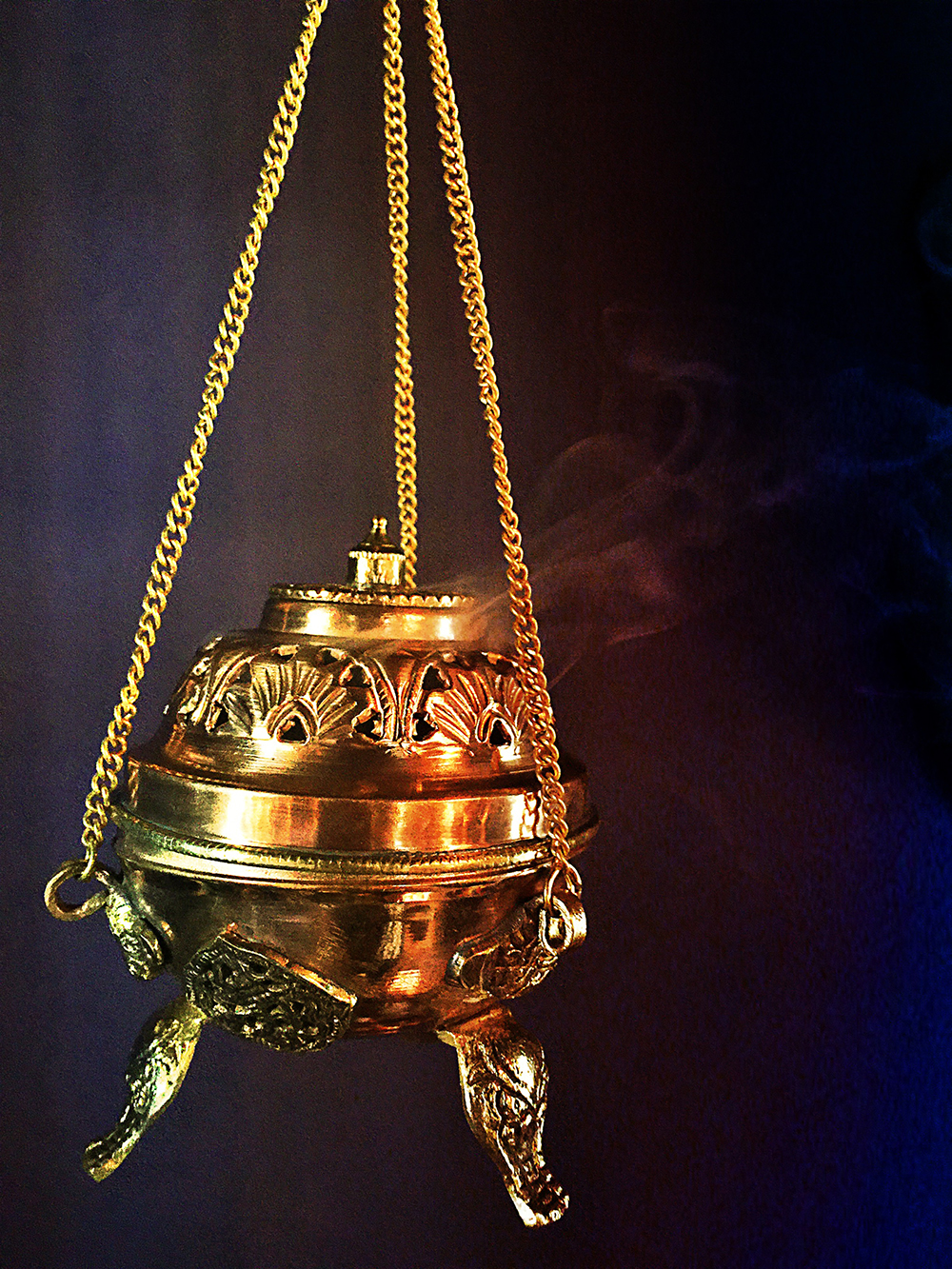 Brass & Copper Incense Censer
