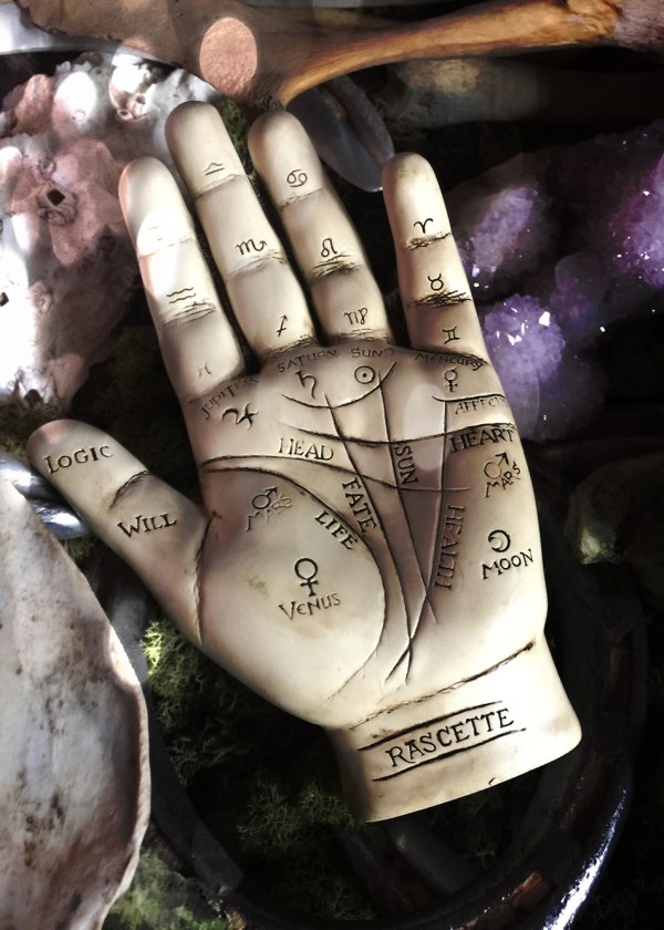 Palmistry Sculpture & Booklet