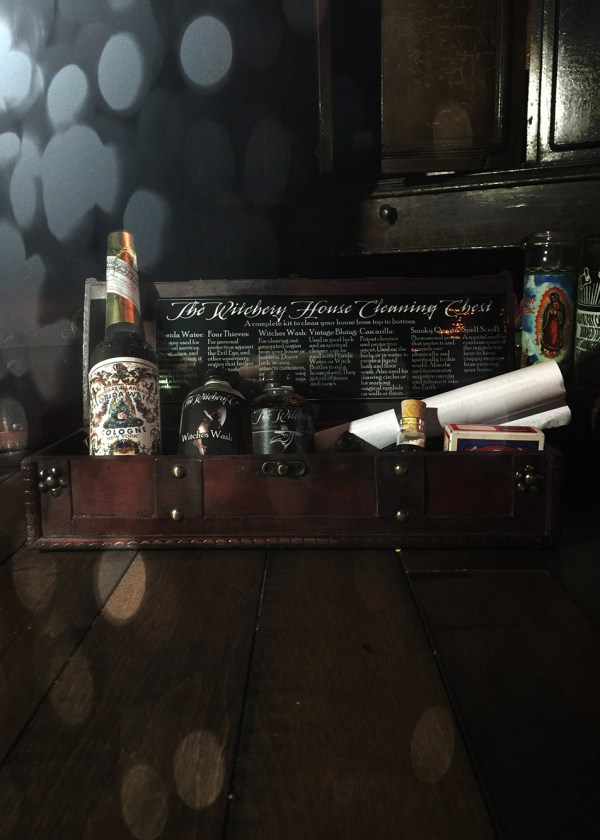 House Cleaning Chest