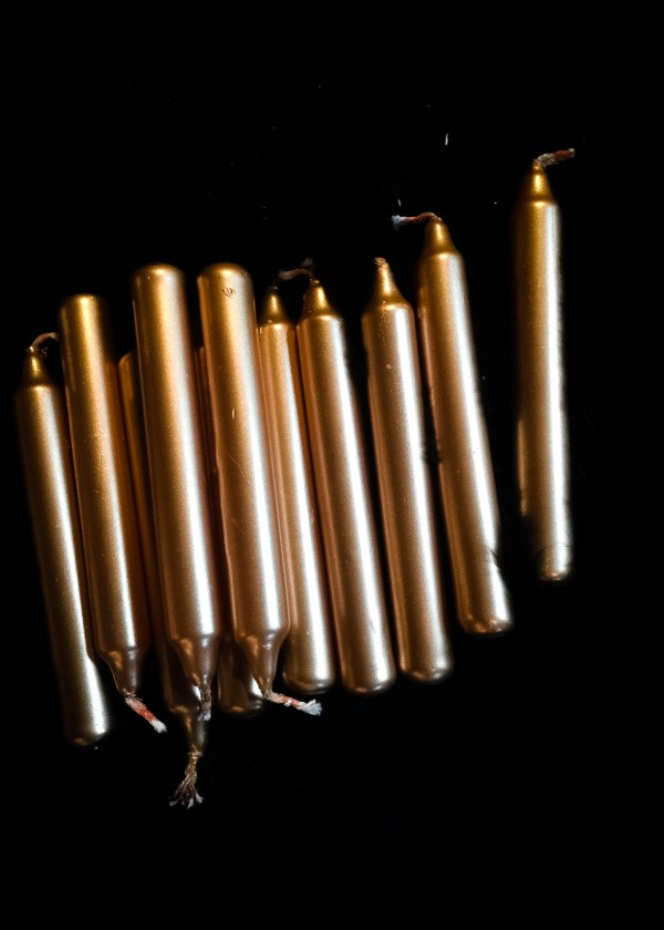 Gold Chime Candles